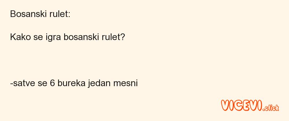 Bosanski rulet