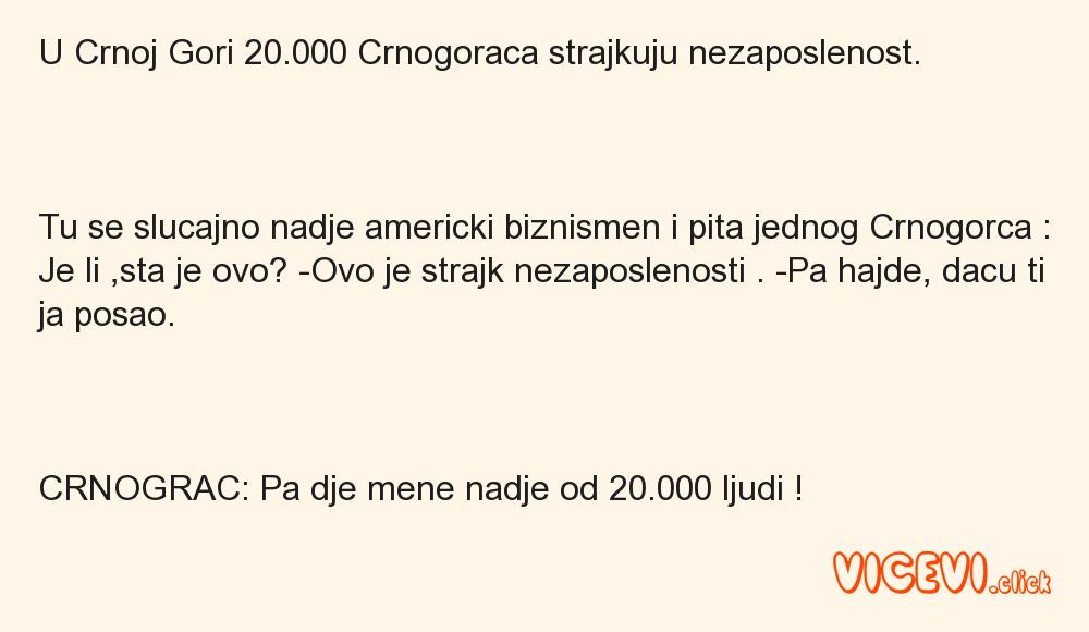 U Crnoj Gori 20.
