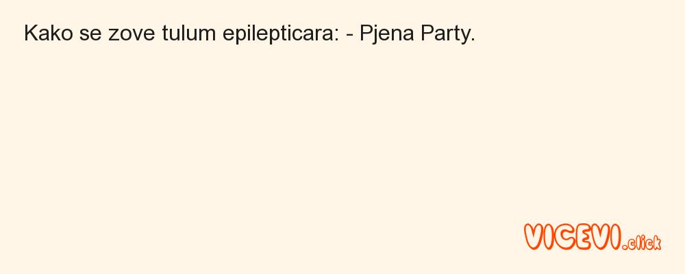 Pjena Party